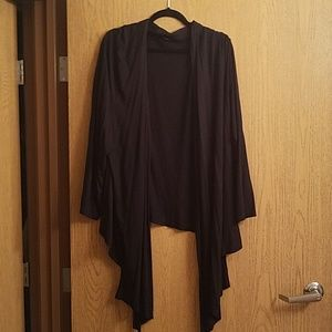 Lane Bryant 22/24 Solid Black Cardigan